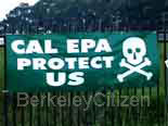 sign: CAL EPA Protect Us