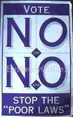 Vote No on N & O sign